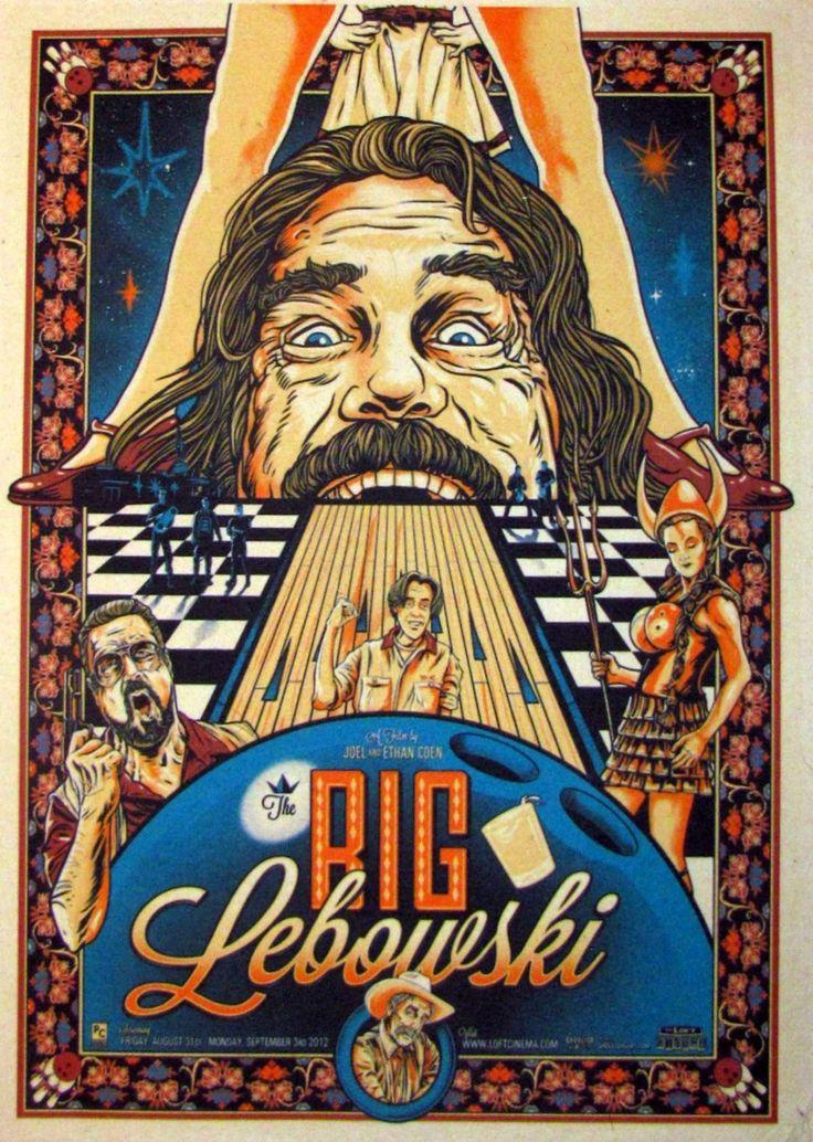 Постер к фильму Большой Лебовски 4 :: Интернет-магазин дизайнерских постеров