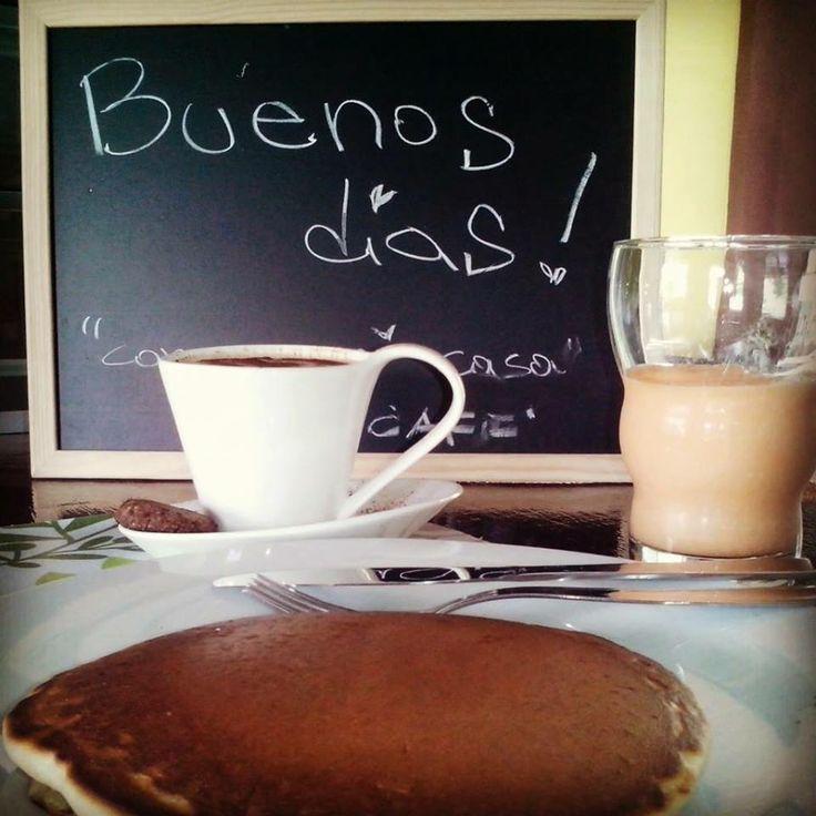 Puncakes | Come en mi casa Art Cafè | Costa Rica  #puncakes #costarica #breakfast #foodtripandmore