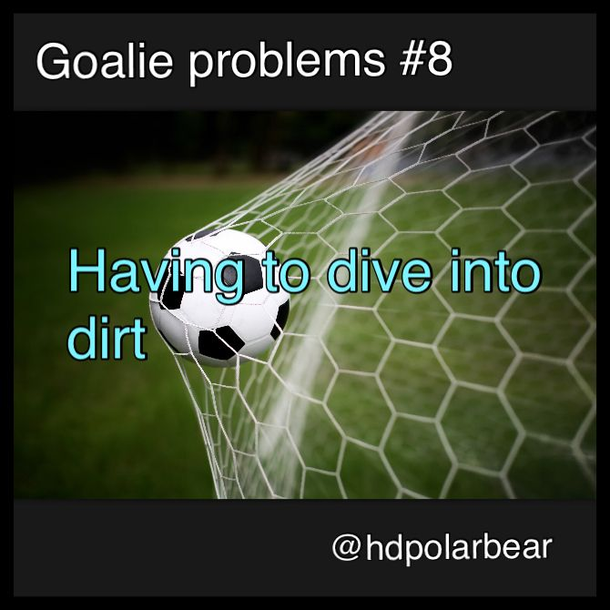 goalie problems