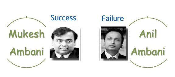 Mukesh Ambani success and Anil Ambani failure. Learning from Mukesh Ambani including business tips.