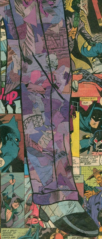 Impresión de Giclee de mi representación de collage comic 12 x 36 de Harley Quinn, como originalmente realizado (y creado) por el increíble Bruce Timm de Batman: The Animated Series  Todo lo que ves (en el original) es el cómic. Ningún marcador, pintura o papel alternativo. Sólo viejos comics y pegamento. Cada pieza original tiene aprox. 100-150 horas para completar.  Estos giclees calidad de archivo se imprimen en Canon 230gsm brillante blanco mate papel con tintas de 100 años. Cada…