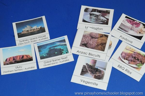 Australia unit ideas with printables
