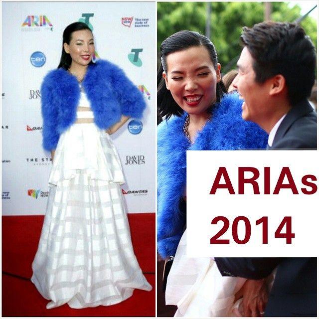 Dami & Husband Noah at the Aria's Awards