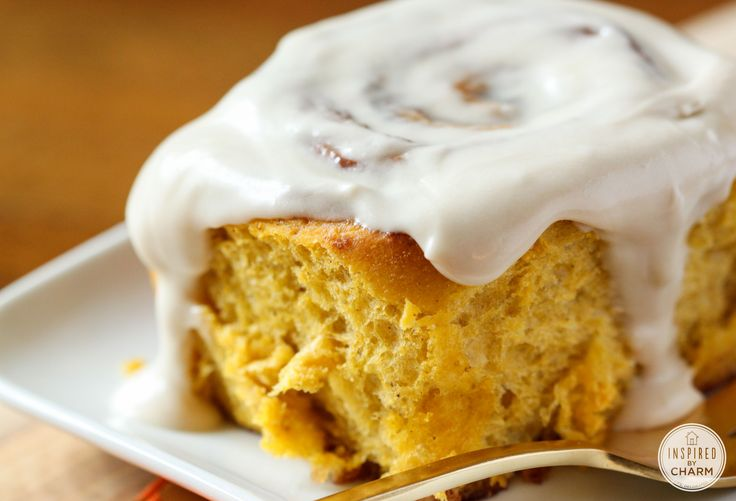 Pumpkin Cinnamon Rolls. Classic cinnamon rolls get a fall twist with pumpkin puree and fall spices.