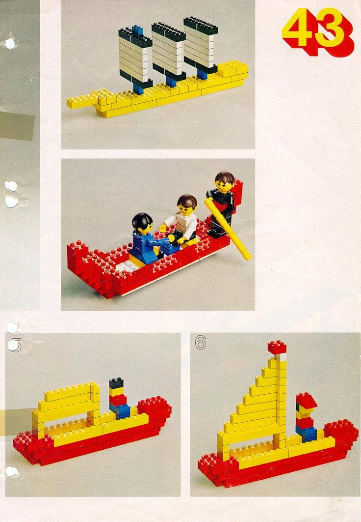 Books - Building Ideas Book [Lego 222] This site has many, many good instruction pages... most using very basic blocks. Perfect for our afterschool Lego activity.