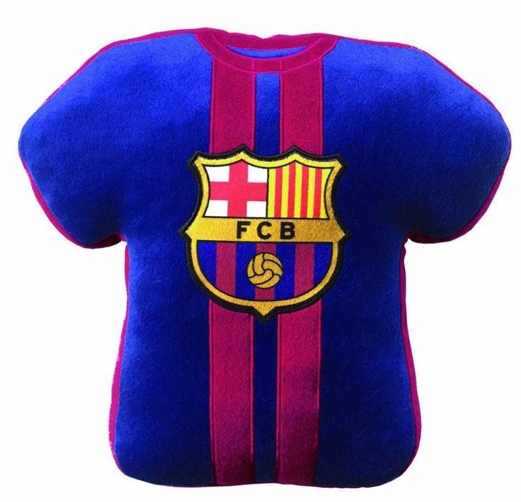 FC Barcelona Kussen 3D T-Shirt Maillot 100% Polyester  #voetbal #laliga #cadeau #voetbalkids #premierleague