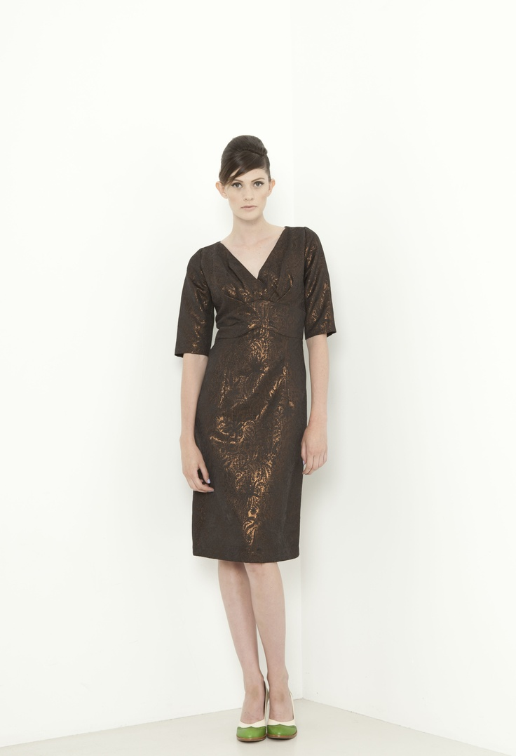 Manor Dress - bronze