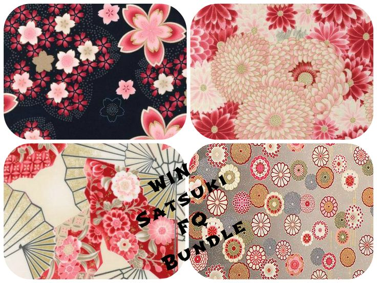 WOW....You could win this amazing fabric FQ bundle!