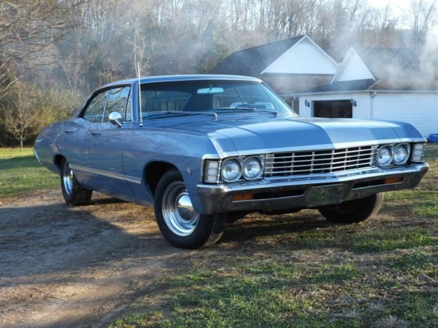 1967 chevy impala 4 door hardtop a c 67 chevrolet 4dr 4 dr w air conditioning cars. Black Bedroom Furniture Sets. Home Design Ideas