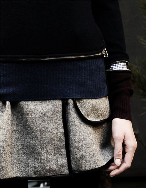 : Wool Sweaters, Edgy Fashion, Fashion Details, Winter Colors, Style Inspiration, Zippers Details, Fashion Inspiration, Clothing Inspiration, Zippers Sweaters