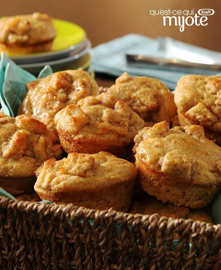 Muffins au pain doré #recette