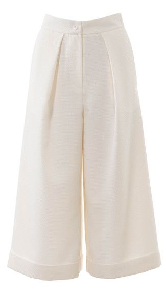 burda style, Schnittmuster - Culotte aus frischem, hellem Pikee, Nr. 113 B aus 04-2015