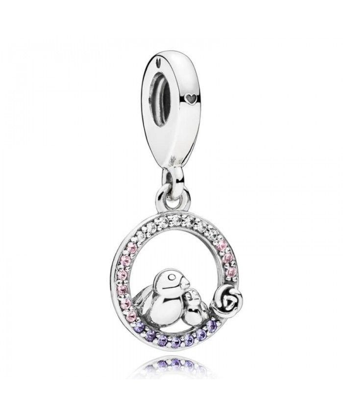 Pandora Women Silver Clasp Charm - 796229CZ QvLn0D