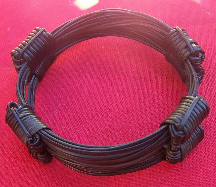 JRR 2X4 knot bracelets joined at the knot. Nice bulky look Price $140 incl ship & ins