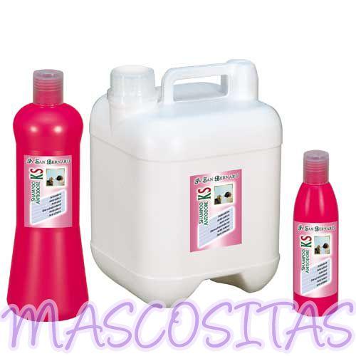 ISB KS Champú Antiolor para Perro y Gato especialmente indicado para eliminar el desagradable olor que desprenden algunas razas de perros.