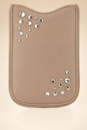 M Autograph Leather Phone Purse