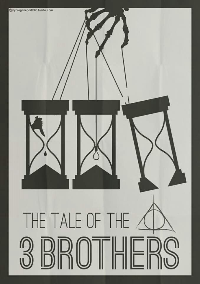 The tale of three brothers is my inspiration for my next tattoo ...