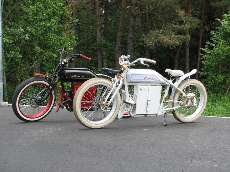 Liberator Electric, Indian-like bikes http://www.autoevolution.com/news-g-image/liberator-the-vintage-electric-cycles-photo-galleryvideo/115669.html
