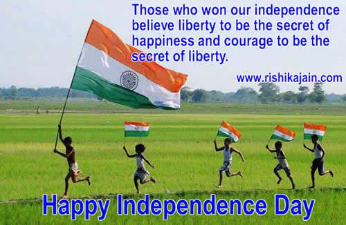 Lets salute the Nation on Independence Day