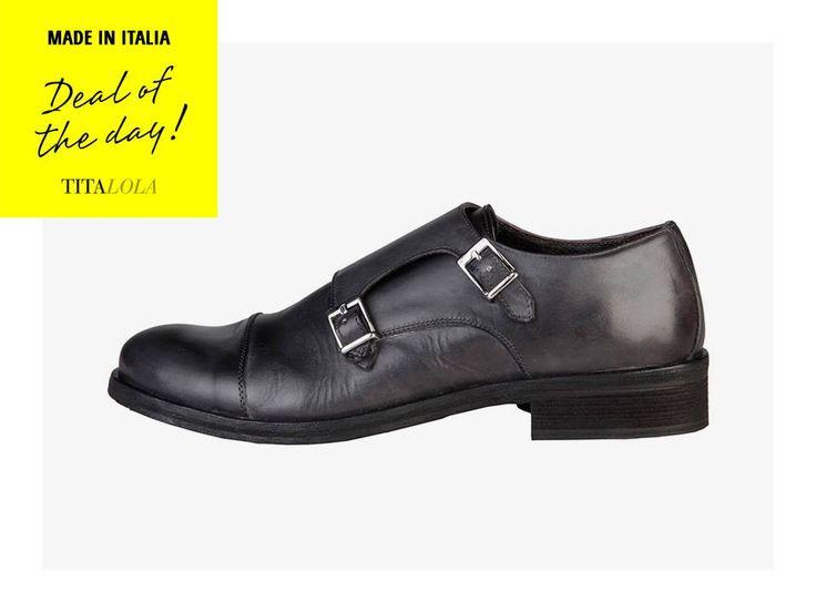 Scarpa bassa Made in Italia 100% vera pelle. Con morbida tomaia con lavorazione…