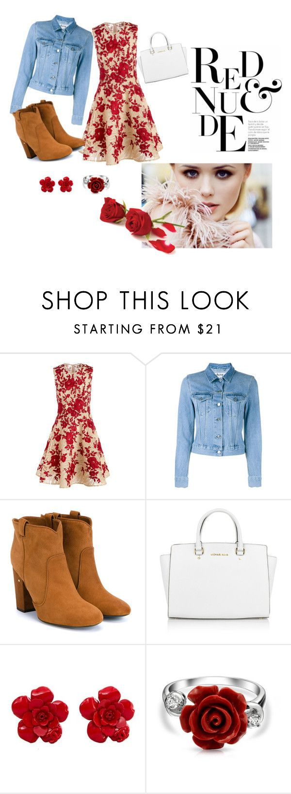 """""""Red roses"""" by love666x on Polyvore featuring moda, Naeem Khan, Acne Studios, Laurence Dacade, Michael Kors, Chanel y Bling Jewelry"""