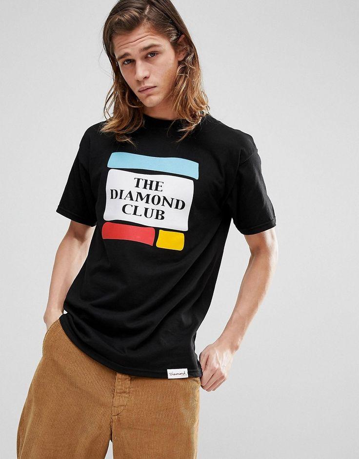 Diamond Supply Members Club T-Shirt - Black