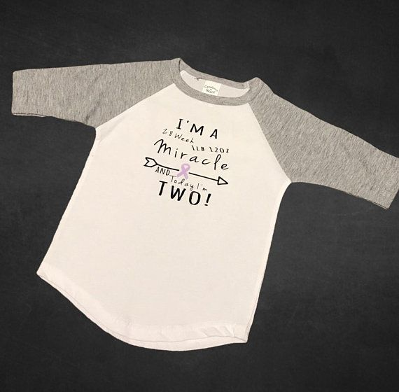 883ba475075 Preemie first birthday   Nicu walk shirts   toddler shirt   birthday shirt    prematurity awards customizable shirts   nicu walk