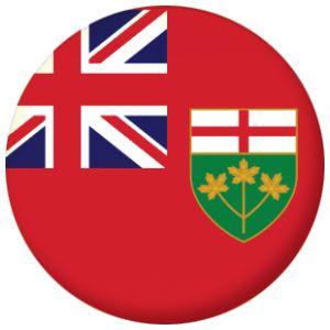 Ontario Province Flag