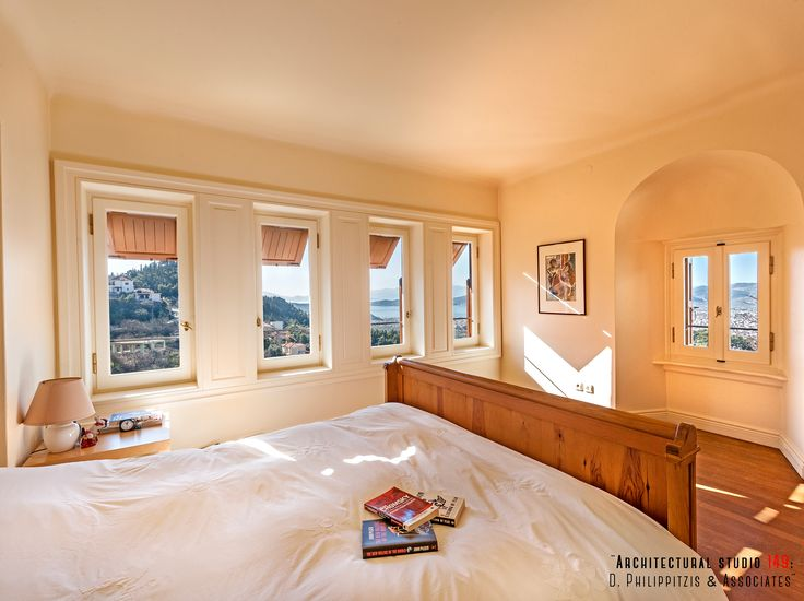 Bedrooms _ interior design | residence | Pelion | Volos | minimal | modern | traditional architecture _ visit us at: www.philippitzis.gr