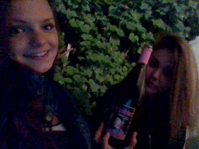 Chill at night with Mekí :-*  Best person I ever met.