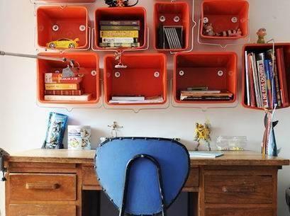awesome estanterias originales ideas para hacer estanterias caseras originales with hacer estanterias - Estanterias Caseras