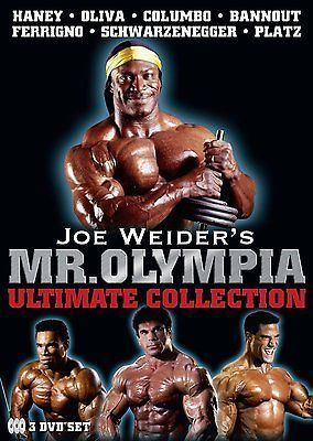 Joe #weider's mr olympia #ultimate #collection dvd,  View more on the LINK: 	http://www.zeppy.io/product/gb/2/381476561832/