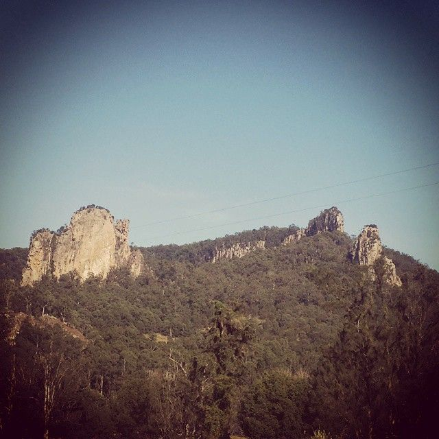 Venue for the international stoned rock climbing festival in Nimbin NSW ;-)