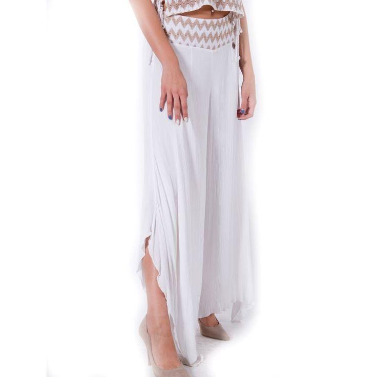 ATTRATTIVO Γυναικεία ελαστική ψιλοκάβαλη ζιπ κιλοτ παντελόνα