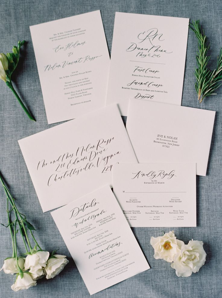 do i send wedding invitations to bridesmaids%0A Proof that You Can u    t Go Wrong with a Black   White Wedding