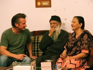 Actor Sean Penn visits Edhi Centre, Karachi(25th March 2012)! Pride of Pakistan, Abdul sattar Edhi, his organisation is open for 'everyone – regardless of faith, class, identity.' #livingsaint  read full article here:http://tribune.com.pk/story/354623/class-act-a-touch-of-inspiration-runs-both-ways-as-sean-penn-visits-shrine-and-edhi-home/