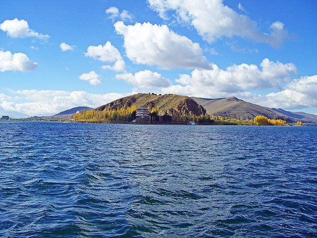 Lake Sevan, Armenia. Lake Sevan is the largest alpine high mountain freshwater lake in the Caucasus region and in Armenia Highland. Lake Sevan is a source of water for irrigation, hydropower, recreation, fish, migratory bird habitat and nursery zones for aquatic and amphibian species.