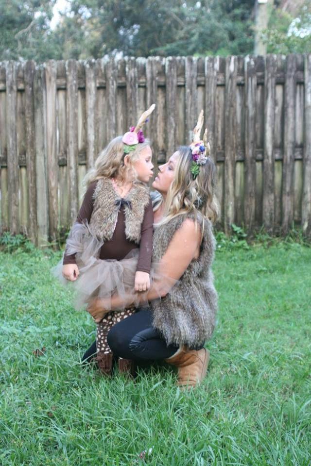 DIY Deer Antlers, DIY Fawn Antlers, Deer Halloween Costume, DIY Fawn Costume