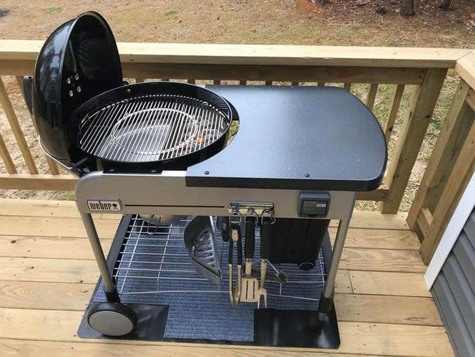 Weber Performer Deluxe Charcoal Grill In 2020 With Images Grilling Charcoal Grill Best Barbecue Grills