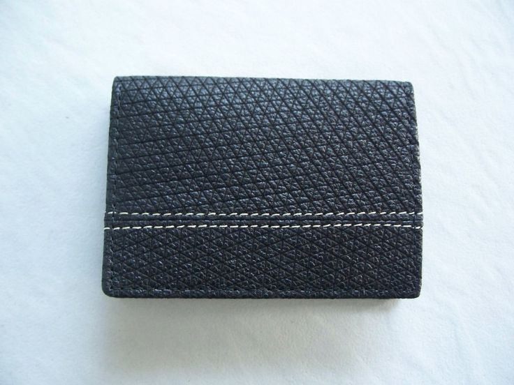 Leather Mini Wallet Thin and Small Wallet Credit/Debit Card Holder Bifold Purse #Handmade #Bifold