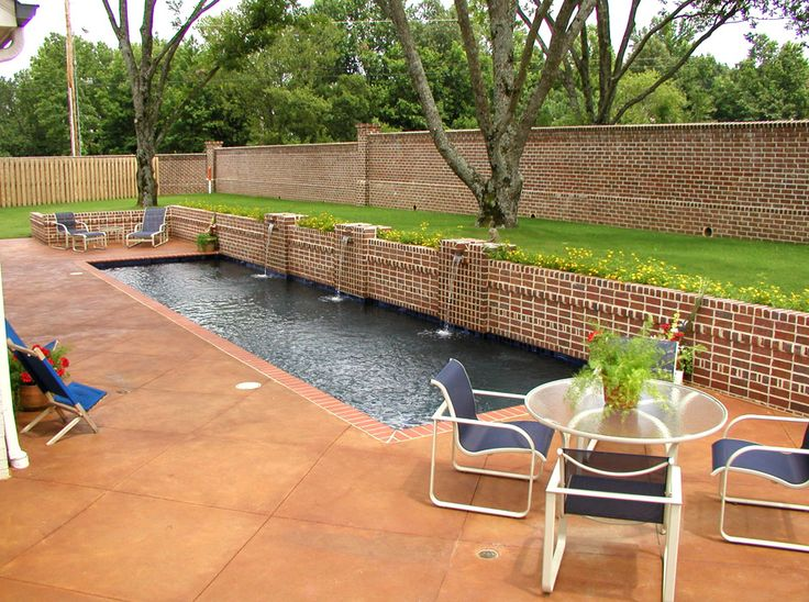 20 best pool features accents images on pinterest for Garden spas pool germantown tn