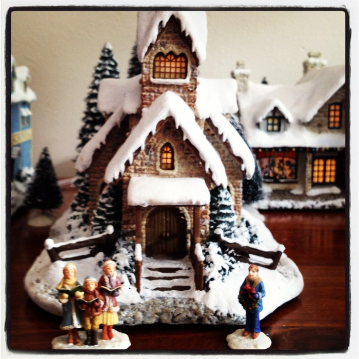 Kinkade Thomas Christmas Accessories Village