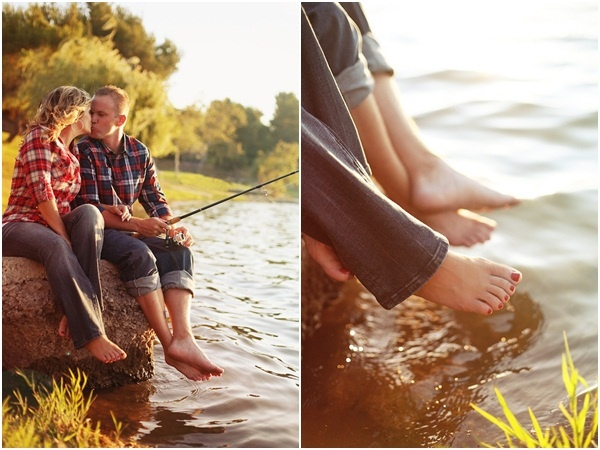 @Marreah Mathews I don't think you would like the fishing idea but what about the feet in the water? We will be by water ;)