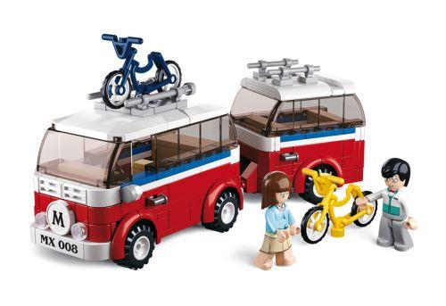 Sluban fra SBDanmark er et godt alternativ til de dyre klodser og er fuld ud kompatibel med mærker som f.eks Lego Autocamper Campingvogn http://www.sbdanmark.dk/index.php/town/sluban-luxe-camper-m38-b0566