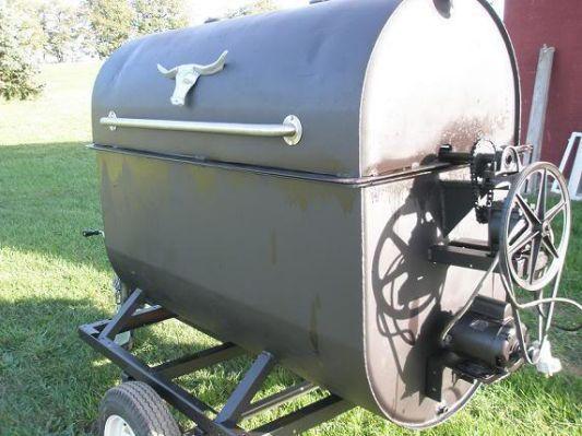 Oil Tank Pig Roaster Plans