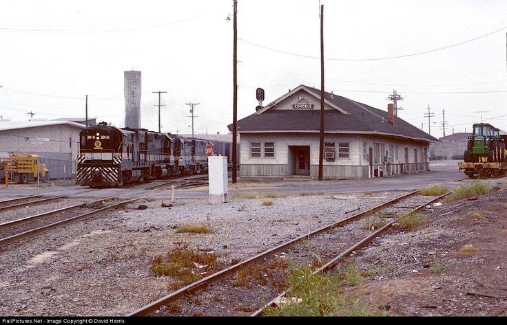 RailPictures.Net Photo: SOU 3916 Southern Railway GE U23B at Cordele, Georgia by David Harris