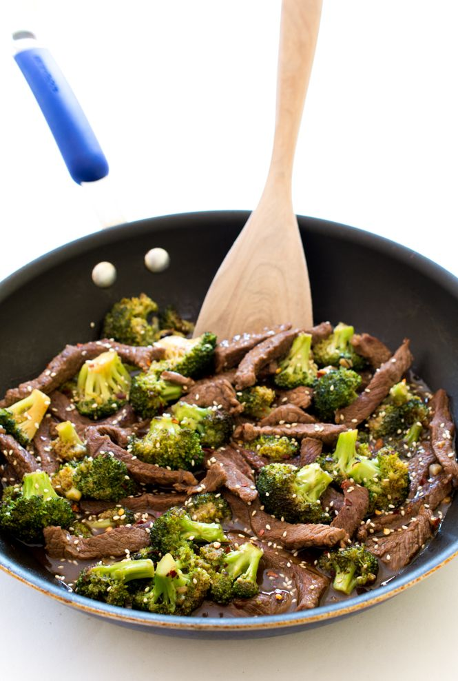 Easy 20 Minute Beef and Brocco