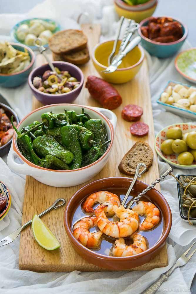 Gambas Al Ajillo Gaumenpoesie Rezept Spanische Tapas Spanisches Essen Rezepte