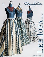 These fabrics are for the home, but isn't the first one lovely?: Design Inspiration, Oscar De La Renta, Fashion, Style, Lee Jofa, Blue White, Fabrics, Oscardelarenta Inspiration, Oscars De La Renta