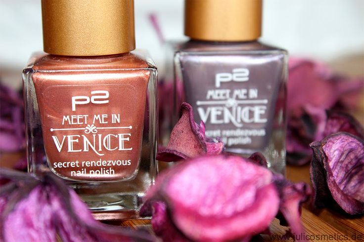 "JuliCosmetics: p2 ""Meet me in Venice"" - secret rendezvous nail polish // Review"